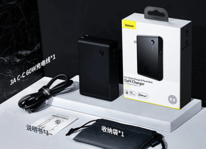 Baseus2in1Chargerの付属品